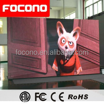 Focono 8 years outdoor P10 P16 LED panel display/ video play led screen