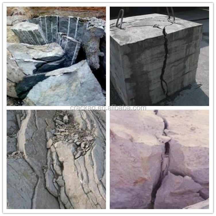 Economic Cheapest rock crack non-explosive expansive mortar