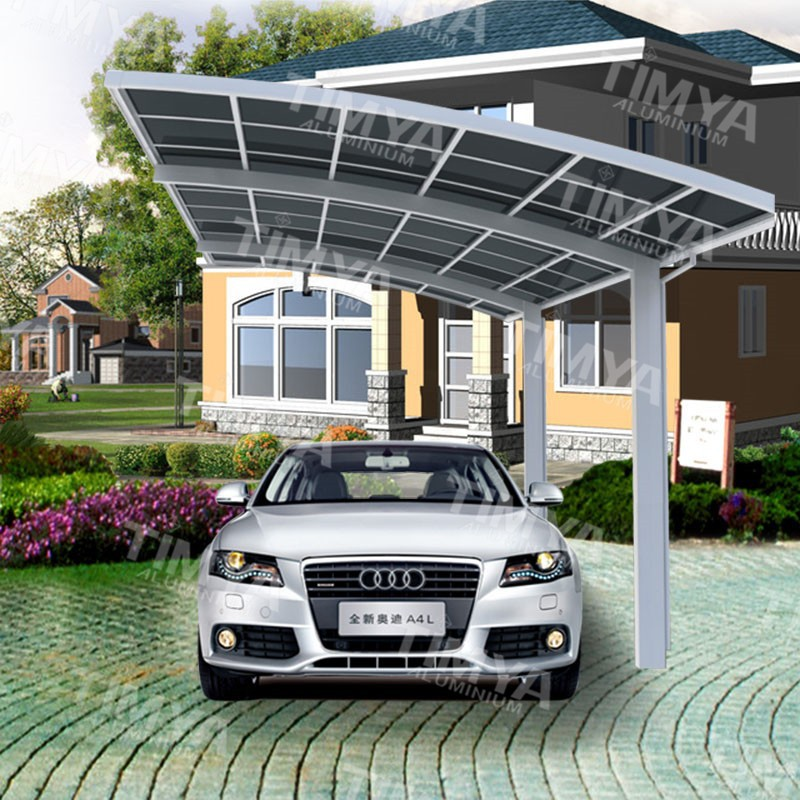 Metal Car Canopies : China metal car parking canopy for boat buy