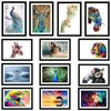 HD Abstract Animals Home Decor Canvas Picture Frame Mural Wall Art Paintings Custom Canvas Print