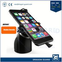 Mobile retail display & Alarm and charging stand for cellphones & Cellphone display stand with alarm and charging