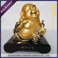 Wholesale resin gold buddha statues for sale