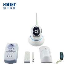 TCP/IP & GSM wireless camera alarm system with phone APP Monitoring