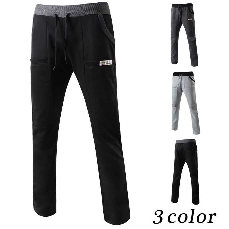 New men casual loose jogger pants sports pants M- XXL