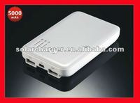 5000mAh Portable Battery Regeneration with 2USB 5V/2.1A Output