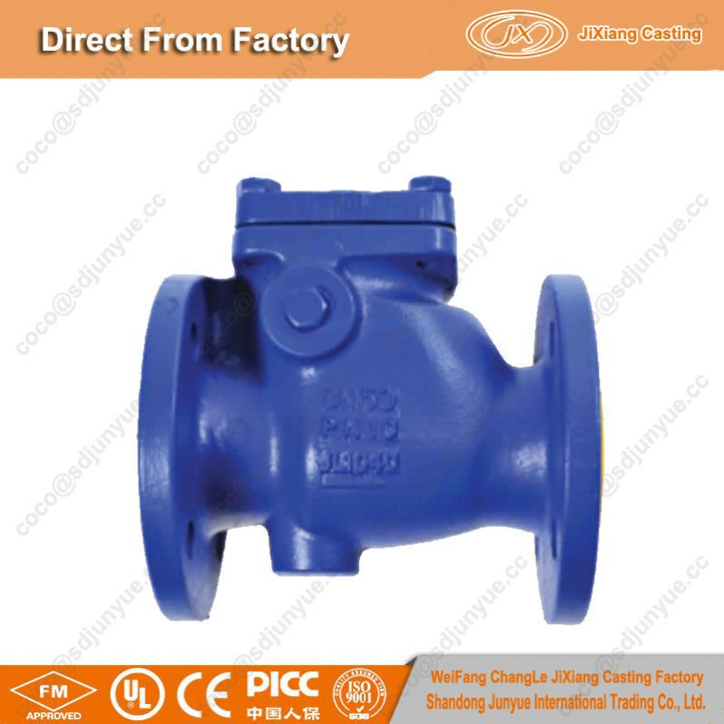 Made in China sand casting products check valves with competitive price