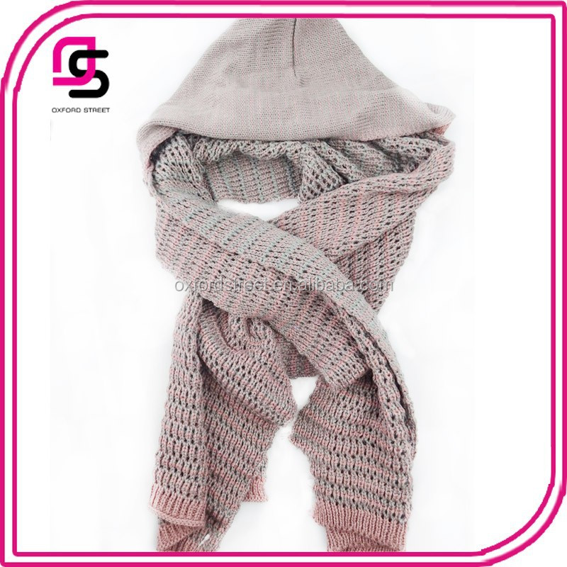 Winter warm new fashionable stylish acclaimed hooded scarf