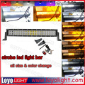 Wholesale ! Flash white strobe amber led offroad light bar for 4X4 SUV UTV ATV