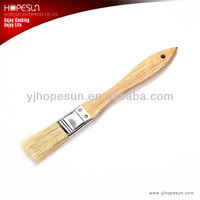 Useful BBQ Sauce Brush With Wooden Handle For Grilling Marinating Turkey Baster and Barbecue Utensil