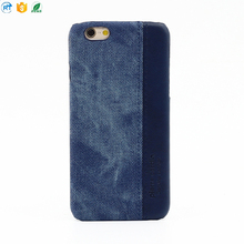 Fashion style jean fabric phone case special design for young people for iphone
