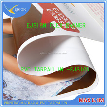 advertising material printing vinyl 18oz laminated backlit flex banner for large format printer