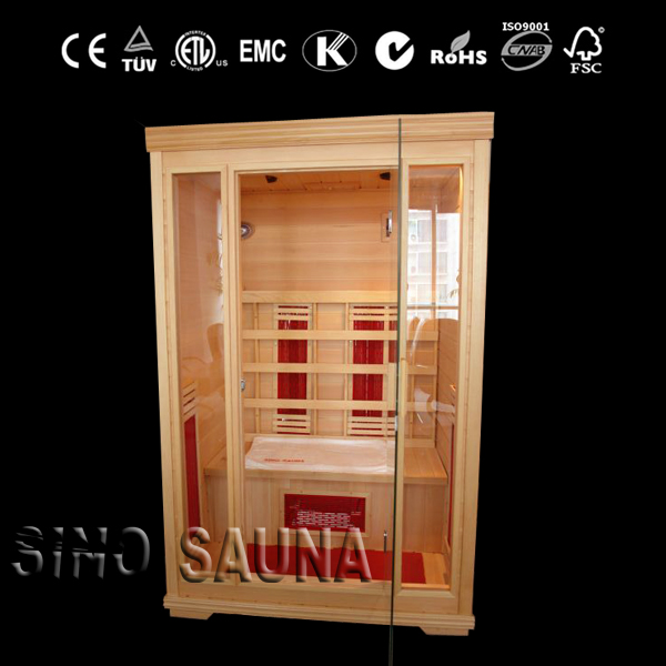 Two Person Ceramic Heater Home Infrared Sauna For Beauty Therapy