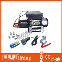24 volt electric mini high speed winch for 4*4/SUV/Jeep/Truck