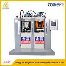 Static 2 Station TR PVC Shoe Sole Manufacturing Machine
