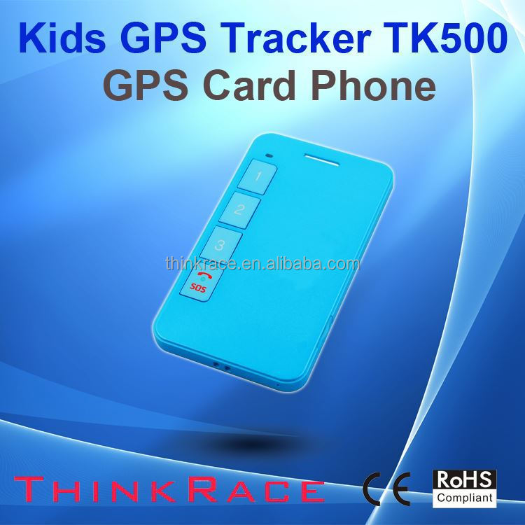 school safety id card gps tracker with panic button TK500