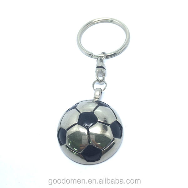 Promotional Gift Custom Football Club Badge Metal Keyring and Metal Keychain