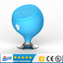 2017 The best Mini portable round bluetooth speakers with FM AUX in and TF card playing functions