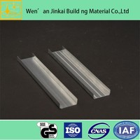 T bar Suspended Ceiling T Grid / Galvanized Steel Drywall Furring Channel