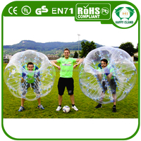 Happy Island CE Crazy inflatable human sized hamster ball,giant inflatable hamster ball