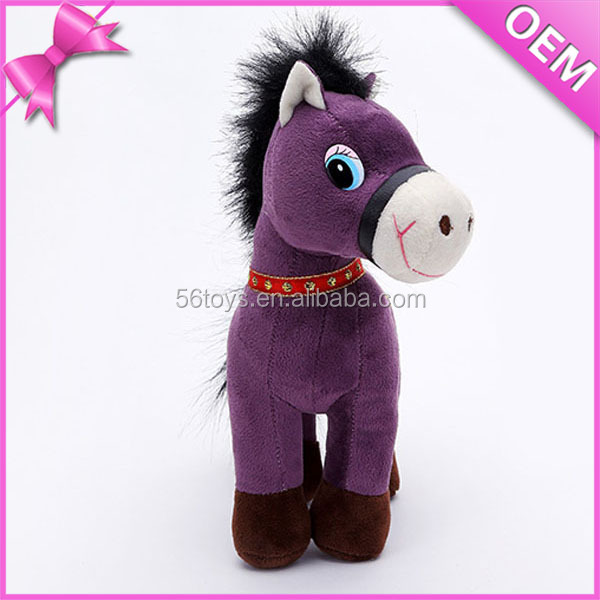 Plush horse/ custom stuffed animal toy/ horse donkey mating documentary