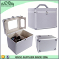 wholesale handbag carry cosmetic box hard makeup bag
