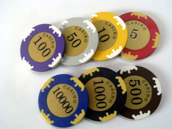 wholesale custom metal poker chip canada crown poker chips