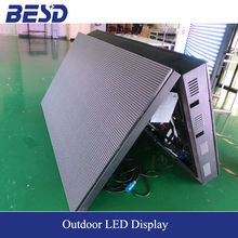 Two faces double sides outdoor full color LED display screen