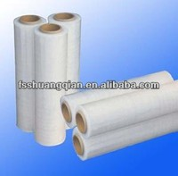 Hand and machine grade LLDPE stretch film
