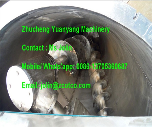 1000L stainless steel Double cone Chemical powder Blender Conical mixer