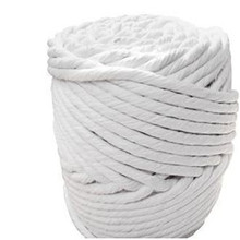 dry asbestos free Ceramic fibre twisted Round sealing rope