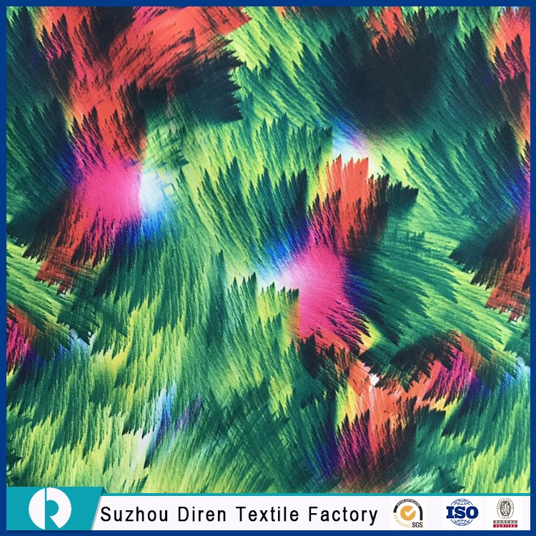 Custom Printed 100%Polyester Different Types Of Fabric