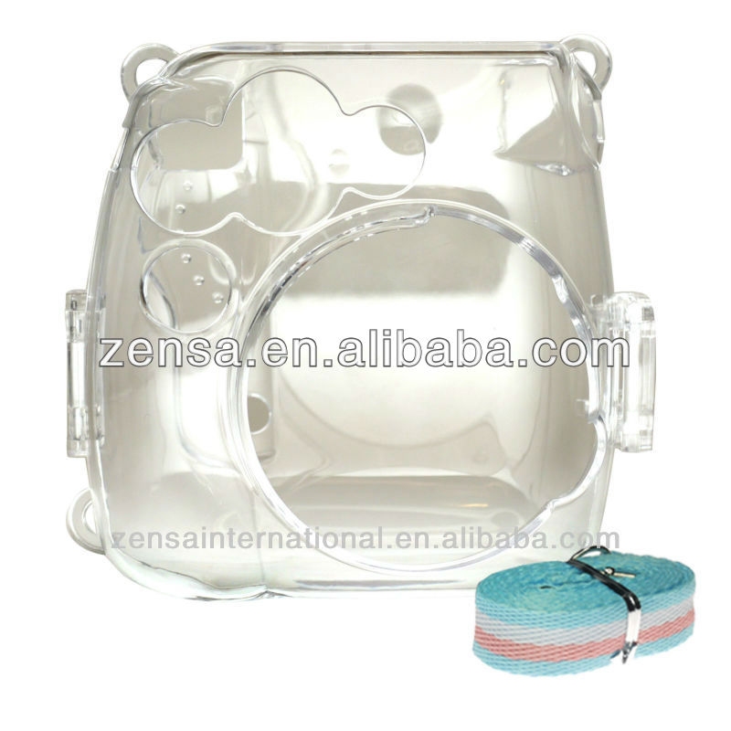 Fuji Instax Film Camera Plastic Case With Strap For Mini 8 Camera