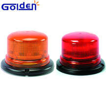 Led Amber red flashing strobe warning compact Rotary Beacon Light
