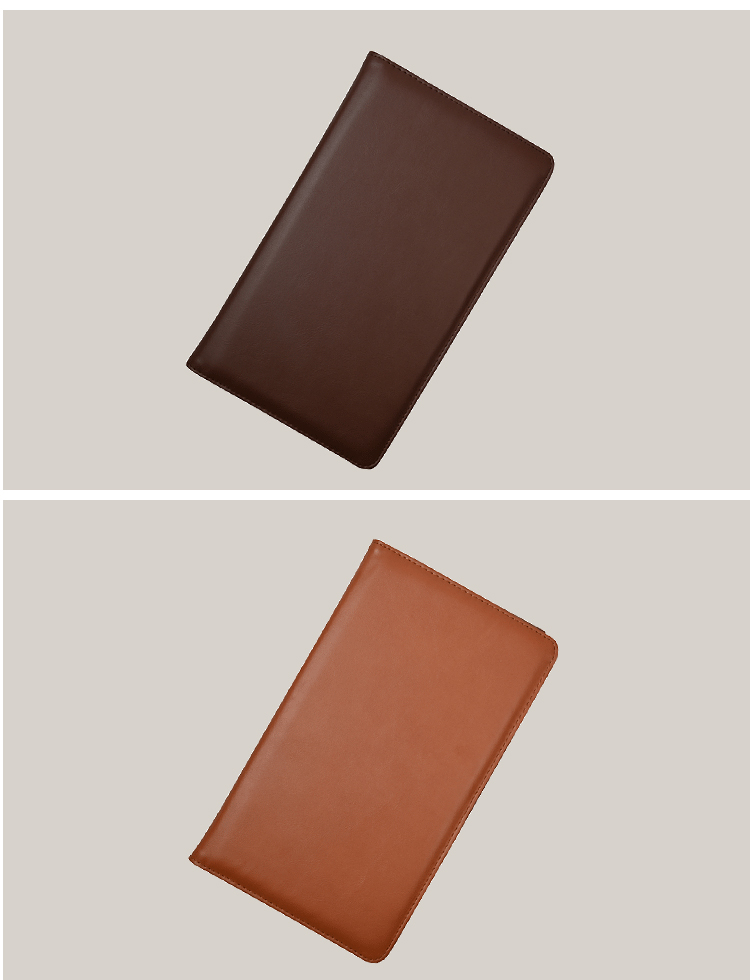 Wholesale Multi Color Check Book Holder Pu Leather Checkbook Cover For Women And Men