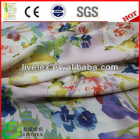 silk touch custom print on fabric design for women's dress