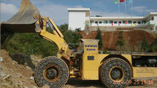china made articulated underground mining 4x4 small load haul dump