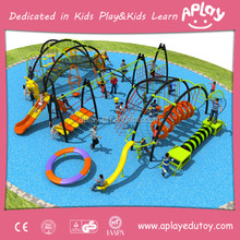 Playground gym climbing rope net equipment for children slide and physical exercise outdoor used