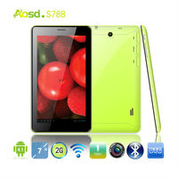 7 inch a13 dual sim card slot tablet pc with two camera 512mb internal memory 4gb hdd wifi, android 4.2, phone call supported