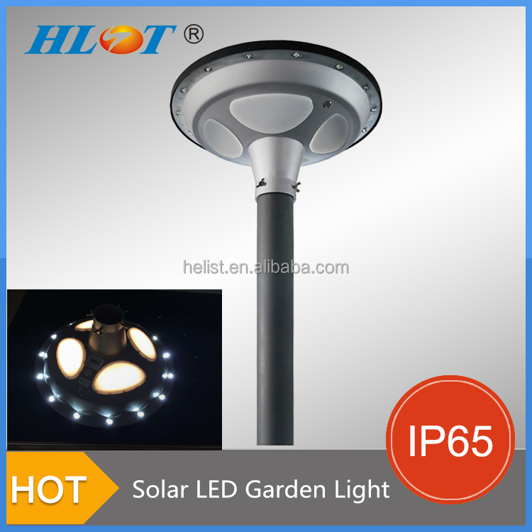 Intelligent Energy Saving 15w DC 12V LED Solar Outdoor Lighting