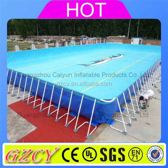 Metal Frame Outdoor Pvc Swimming Pool Plastic Stents Pool For Sale Buy Metal Frame Outdoor Pvc