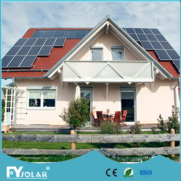 Photovoltaik product on grid solar system 3000watt for power supply