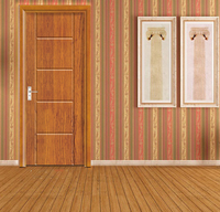 Classical Style Philippines Narra Wood Doors C3337-N