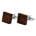 Wholesale classical wood cufflinks clasps bamboo cufflinks fashion men's custom wood cufflinks