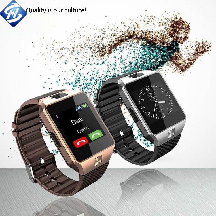 Hot Sale Bluetooth Smart watch DZ09 Android Smart Watch With SIM Card and Camera Mobile Watch Phone For Samsung Galaxy S8