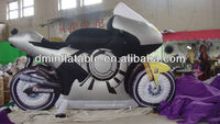 2013 newest advertisement inflatable motorcycle