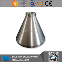 Factory Supply And High Quanlity Gr2 titanium concentric reducer