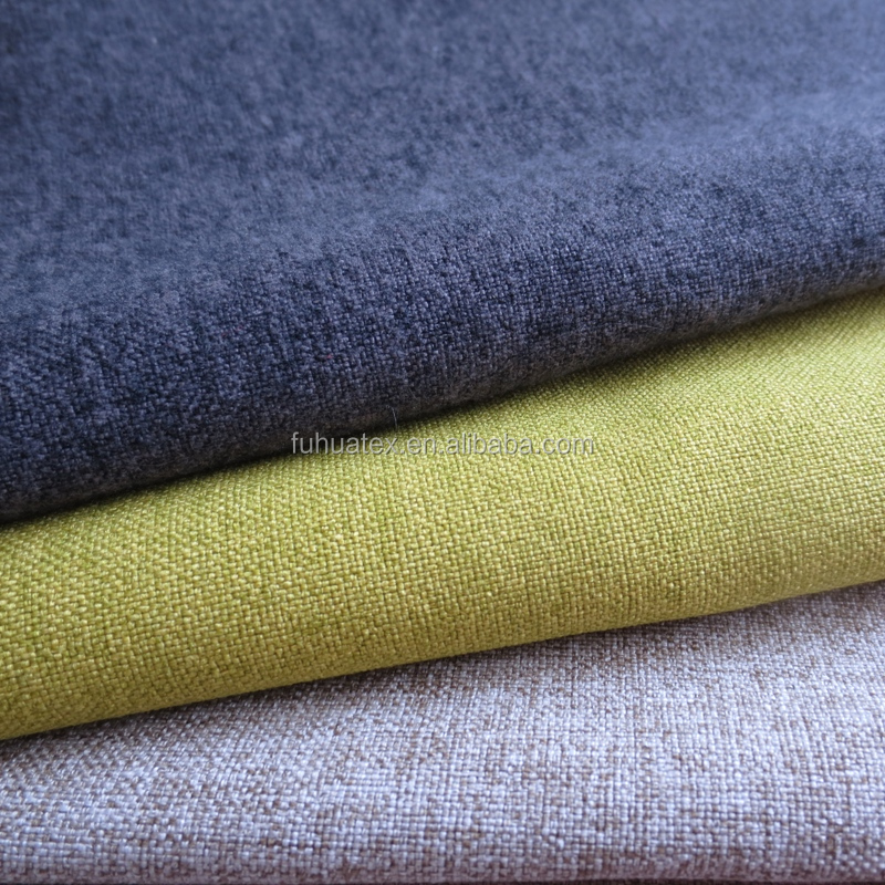 polyester waterproof upholstery fabric for sofa furniture