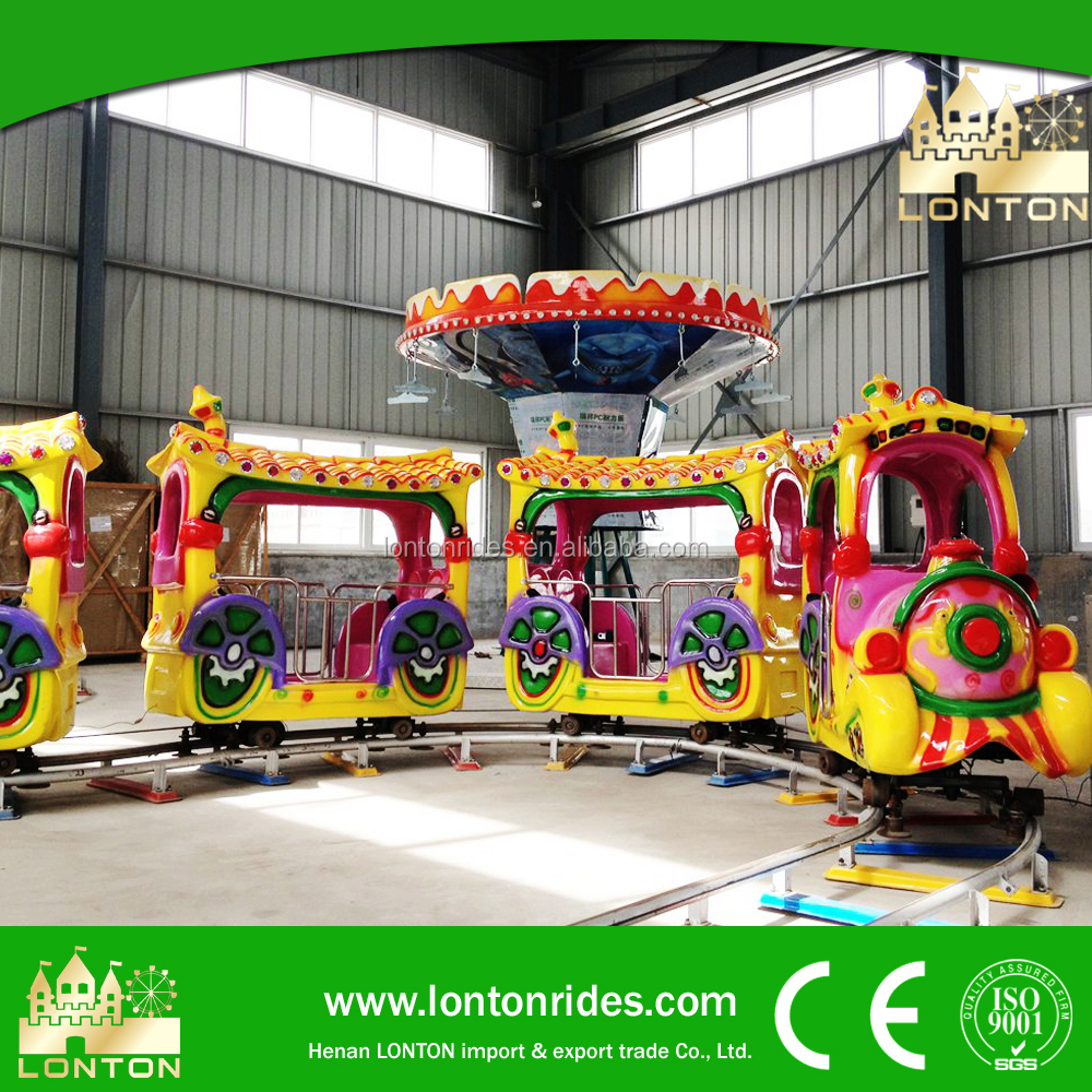 Amusement Park Equipment Road Train For Sale Electric Mini Train