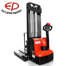 Stacker is fully stable and safe Straddle Stacker Forklift EP Materials Handling