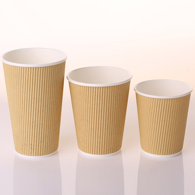 Top Sale Guaranteed Quality 12Oz Biodegradable Hot Coffee Kraft Paper Cup